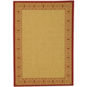 Courtyard Tribal Indoor/Outdoor Rectangular Rugs