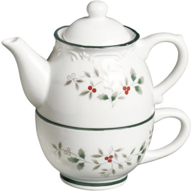 jcpenney.com | Pfaltzgraff® Winterberry Tea For One Serving Pot