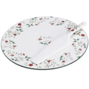 Pfaltzgraff® Winterberry Cake Plate With Server