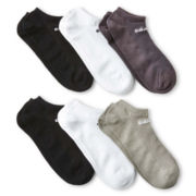 adidas® 6-pk. Superlite No-Show Socks