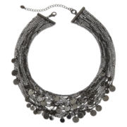 Multistrand Disc Necklace