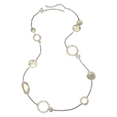 jcpenney.com | Circle & Disc Necklace
