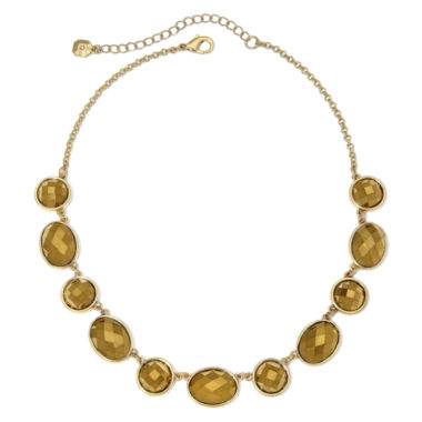 jcpenney.com | Monet® Gold-Tone Metallic Collar Necklace