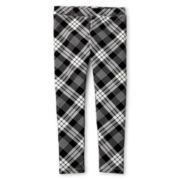 Joe Fresh™ Plaid Leggings - Girls 1t-5t