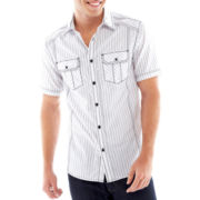 Chalc Striped Woven Shirt
