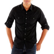 Chalc Solid Woven Shirt