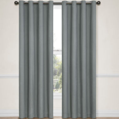 jcpenney.com | Eclipse® Emery Grommet-Top Blackout Curtain Panel with Thermaback