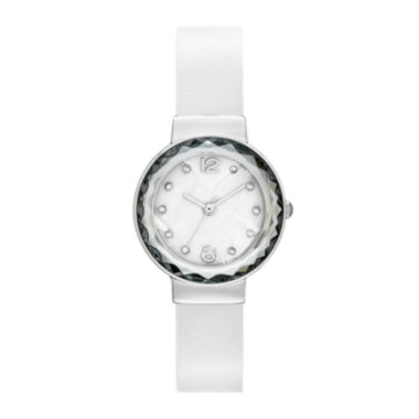 jcpenney.com | Womens Faceted Crystal Watch