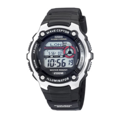 jcpenney.com | Casio® Wave Ceptor Illuminator Mens Atomic Timekeeping Sport Watch WV200A-1AV