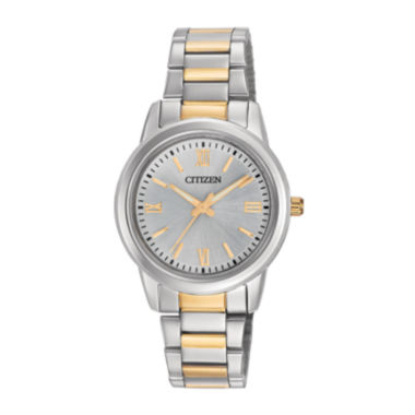 jcpenney.com | Citizen® Womens Two-Tone Stainless Steel Bracelet Watch EL3068-56A