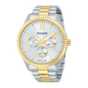 Pulsar® Womens Stainless Steel Bracelet Watch