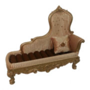 Gold Chaise Lounge Ring Holder