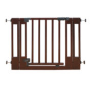 Summer Infant® Multi-Use Walk-Through Gate – Dark Cherry