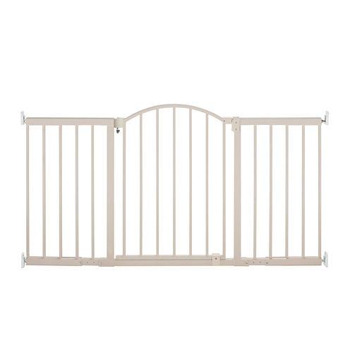Summer Infant® Metal 6 Foot Wide Walk-Thru Expansion Gate - Beige