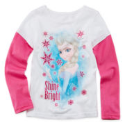 Disney Frozen Long-Sleeve Doubler Tee - Girls 4-6x