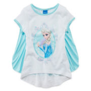 Disney Frozen Cape Tee - Girls 4-6x