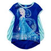 Disney Frozen Cape Tee - Girls 4-6x