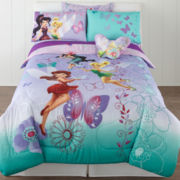 Disney Fairies Sparkling Friendship Comforter & Accessories