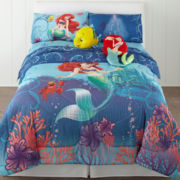 Disney Little Mermaid Comforter & Accessories