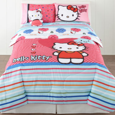 jcpenney.com | Hello Kitty® Free Time Comforter & Accessories