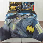 Batman from the Rooftop Reversible Twin/Full Comforter and Accessories