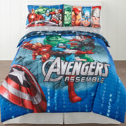 Marvel® Avengers® Classic Halo Reversible Comforter & Accessories