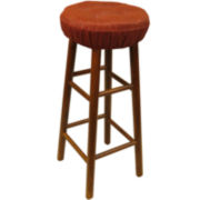Embrace Gripper® Set of 2 Delightfill® 4-Tack Barstool Covers