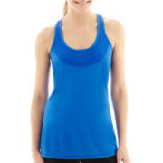 Xersion™ Mesh-Pieced Racerback Tank Top