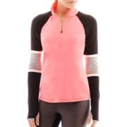 Xersion™ Sports Lux Half-Zip Colorblock Pullover