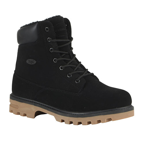 Lugz® Empire Mens Fleece Water-Resistant Lace-Up Boots