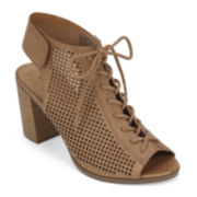 Call It Spring™ Adreliven Lace-Up Heels