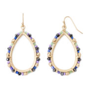 Arizona Mixed Bead Teardrop Earrings