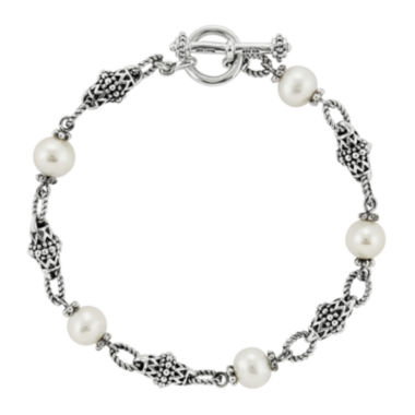 jcpenney.com | Shey Couture Cultured Freshwater Pearl Sterling Silver Bracelet