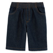 Okie Dokie® Pull-On Denim Shorts - Preschool Boys 4-7
