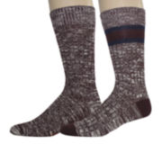 Dockers® Mens 2-pk. Crew Socks