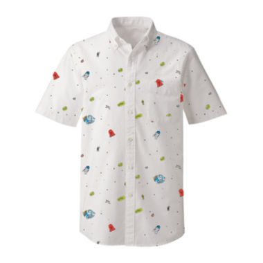 jcpenney.com | Star Wars™ Short-Sleeve Woven Shirt