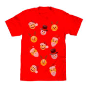 Emoji Novelty Christmas T-Shirt