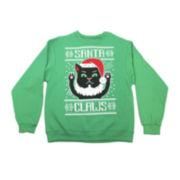 Santa Claws Novelty Sweatshirt