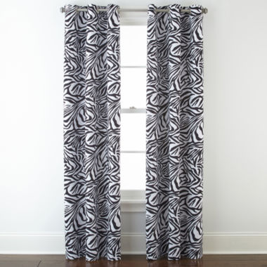 jcpenney.com | Home Expressions™ Sebastian Blackout Grommet-Top Curtain Panel