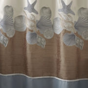 Croscill Classics® Shells Ashore Shower Curtain