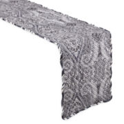 Waverly® Paisley Piz Quilted Table Runner