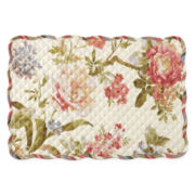 Waverly® Casa Di Fiori Set of 4 Quilted Reversible Placemats