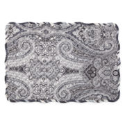 Waverly® Paisley Piz Set of 4 Reversible Quilted Placemats