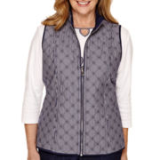 Alfred Dunner® Sausalito Reversible Vest