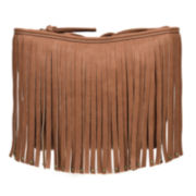 Arizona Shana Fringe Crossbody Bag