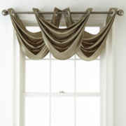 Royal Velvet® Hilton Grommet-Top Waterfall Valance