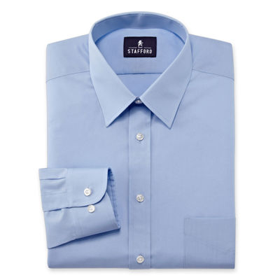 Stafford Performance Wrinkle Free Broadcloth Dress Shirt