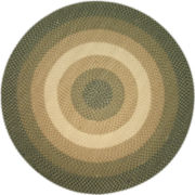 Westerly Reversible Braided Wool Round Rug