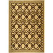 Courtyard Flowing Twist Indoor/Outdoor Rectangular Rugs