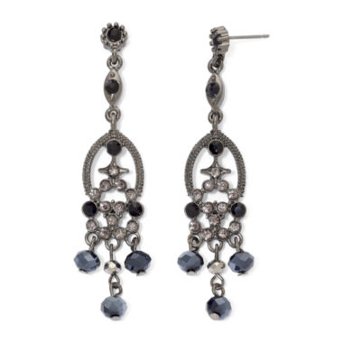 jcpenney.com | Crystal & Bead Chandelier Earrings